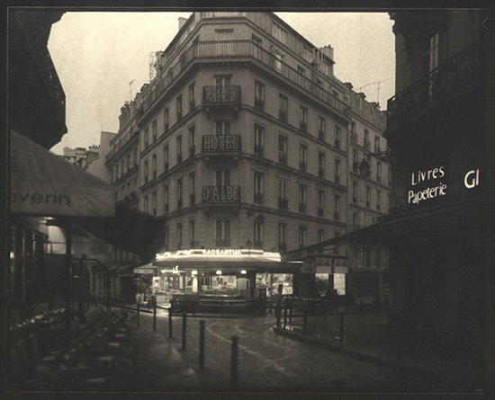author: Gary Auerbach title: Paris Gargantua,  Latin Quarter  5 am