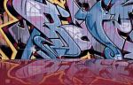 author: Erland Pillegaard, DK title: Graffiti Reflection