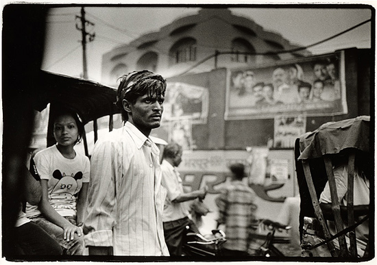 author: Stefan Rohner title: 	Rickshaw driver in Delhi